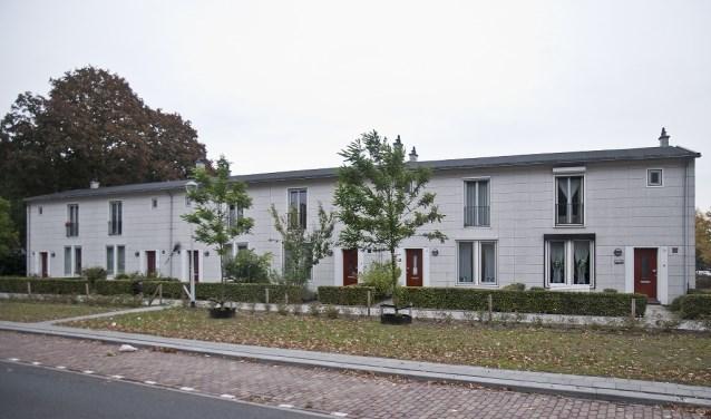 Deze zes Aireywoningen, zijn onlangs aangewezen als gemeentelijk monument. foto: heemkundekringtilburg.nl
