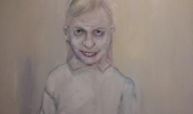 Schilderij van Dorien Plaat.