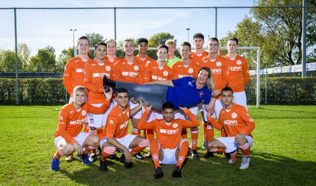 Clubheld Oranje Wit. Foto: Richard van Hoek