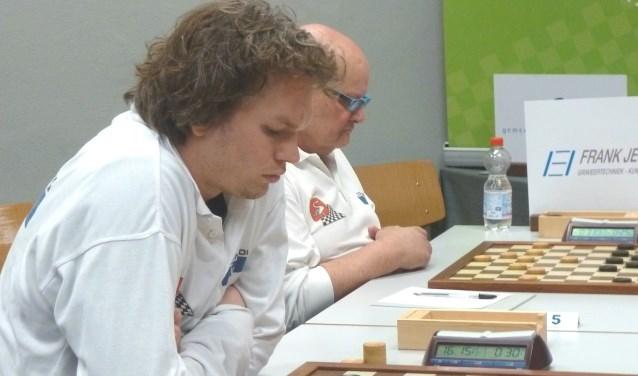 Wouter Ludwig  (l) en Geert van Aalten