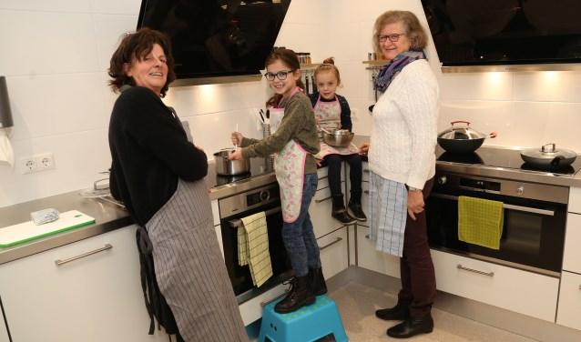 De keuken in Gassel wordt zondag officieel geopend (foto Marco van den Broek).