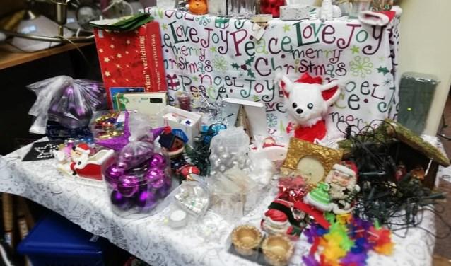 Kerstspulletjes kun je ook prima tweedehands kopen. FOTO: PR