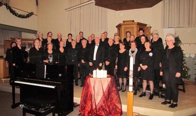 Mannen- en vrouwenkoor Campanella os in het nieuwe jaar ook present bij diverse concerten. Foto: Gerrit Markvoort.