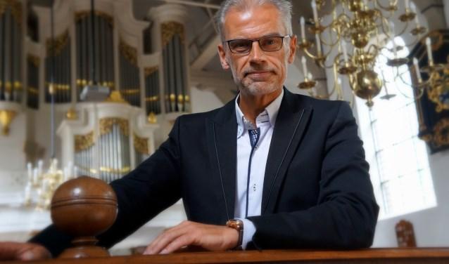 Organist Arjan Breukhoven