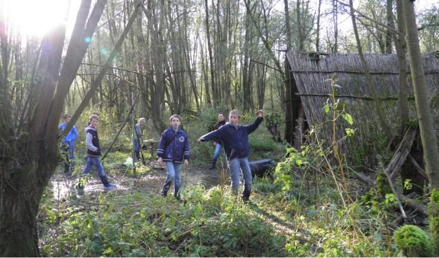 Spoorzoekers in de Biesbosch