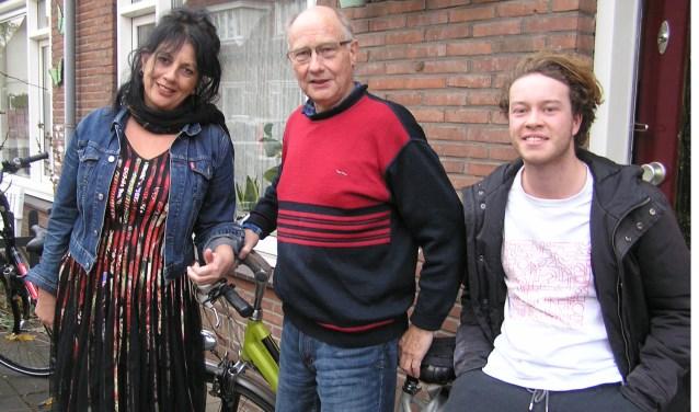 Mariët Bloemendal, Jan Visser en Ties Wijen vonden elkaar in het project en hielden er een positief gevoel aan over.(foto Gerreke van den Bosch)