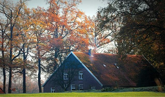 Eddy Oude Voshaar maakte een rondje Austiberg en genoot van het Twentse landschap onderweg.