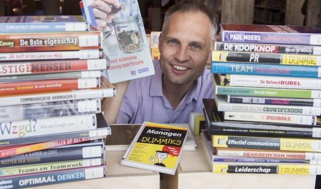 """Mark Deckers: """"Activiteiten vormen steeds vaker een belangrijk aspect om bibliotheken overeind te houden."""" Foto: Wouter Borre / DTCT"""