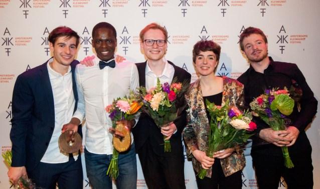 Finalisten komen naar Aan de Slinger Houten. Foto: Jaap Reedijk.