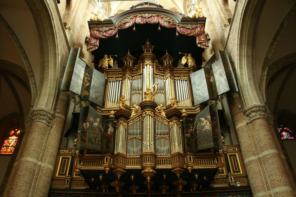 Het Marcussen-orgel in de Grote Kerk van Goes