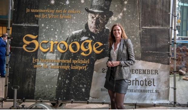 Esther Hammink is dolblij dat Scrooge in het Theaterhotel wordt opgevoerd