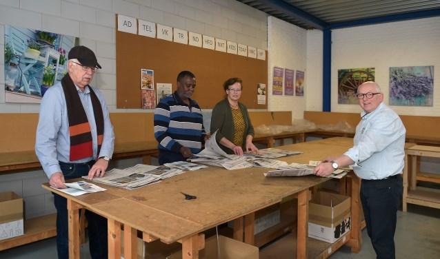 Van links naar rechts: Amet van Capelle, Ali Mohamed Ibrahim, Lia Koelewijn en Jaap Koelewijn. (Foto: berrydereusfotografie.nl)