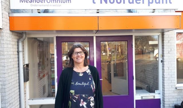 Ellen van Tilburg coördinator van buurtbemiddeling Meander Omnium Zeist. FOTO: Maarten Bos