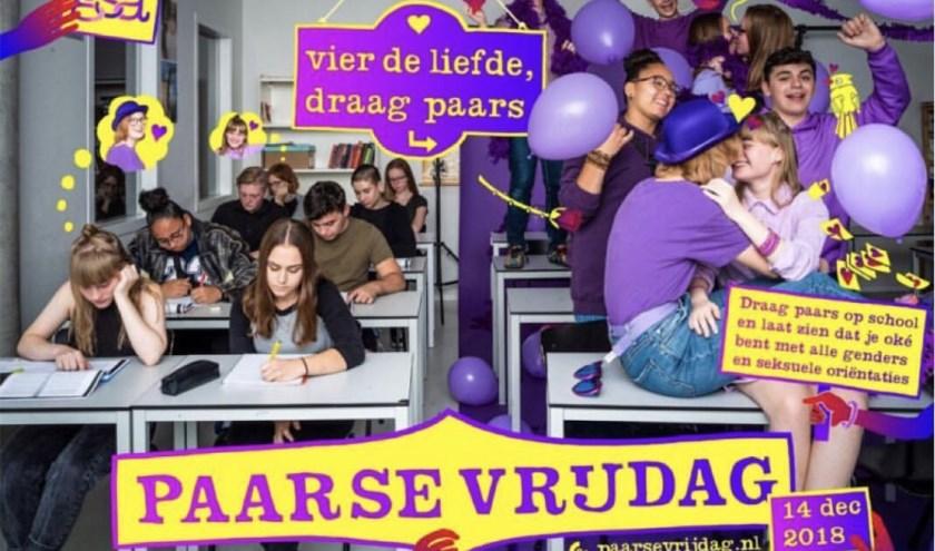 Paarse Vrijdag op de Nederlandse scholen