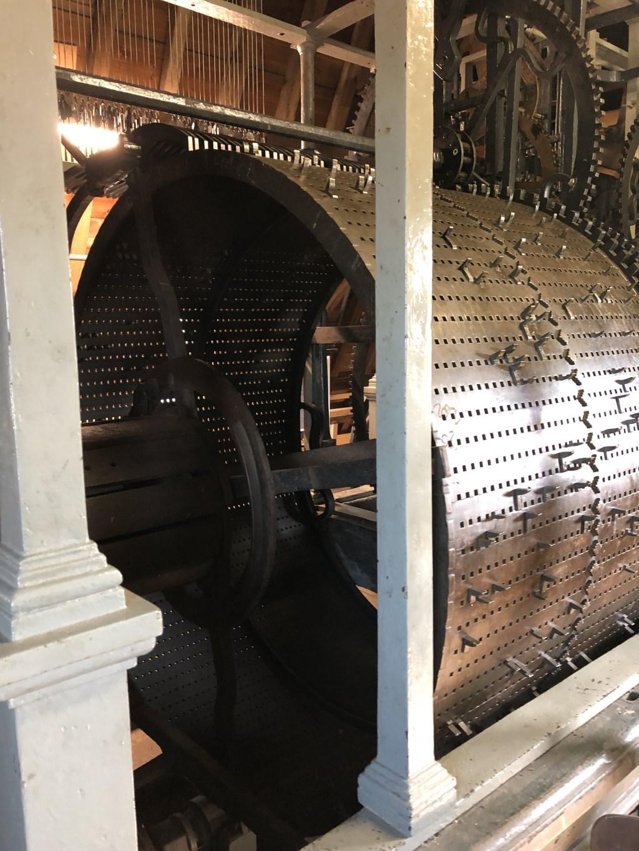 Speeltrommel carillon Veere Foto: d. van der Vlies © Persgroep