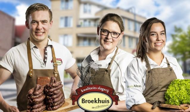 Vanaf nu kun je bij Slagerij Broekhuis ook terecht voor complete maaltijden, waardoor je zelf niet hoeft te koken. Foto: J Wegerink