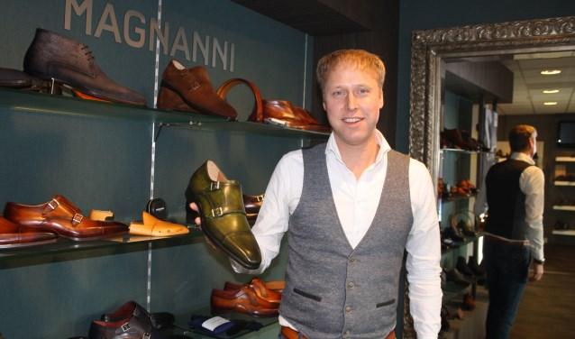"""Jurgen Steenbergen: """"Als je schoenen wilt passen, gaat er niets boven de fysieke winkel."""" Foto: Habi Rijssen."""