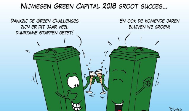 Nijmegen,voor altijd een groene stad!?