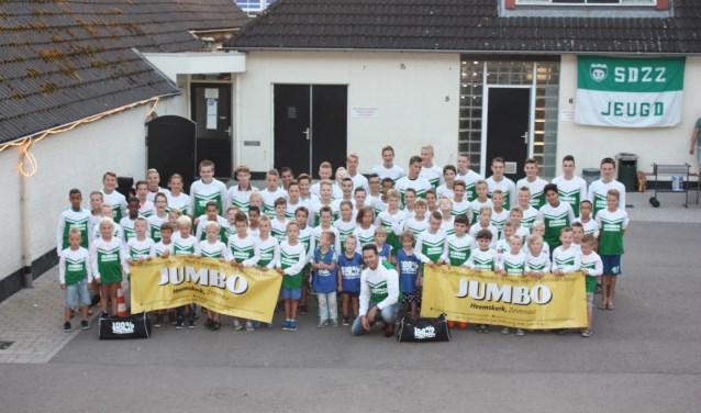 Ook dit jaar doet er weer veel jeugd mee bij het eindejaarstoernooi van Omni-vereniging SDZZ