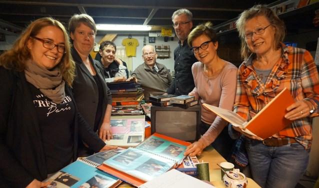 Vlnr: Karin Esselink, Agnes Hengeveld, Ine Sandmann, Gerhard Nijenhuis, Henk-Jan Heijnen, Anja Navis en Joke Schreurs. (Foto: Betty Wassink)