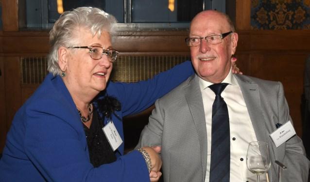 Joop en Tiny zeggen in 1958 JA tegen elkaar; na 60 jaar trouwt Imca Marina hen opnieuw. (foto: Marius Schinkel)
