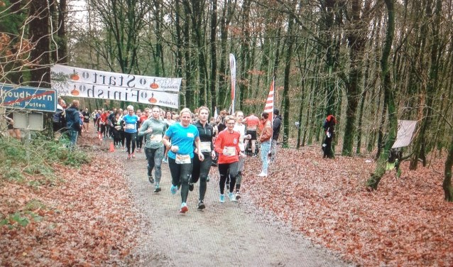 Start dames 5km