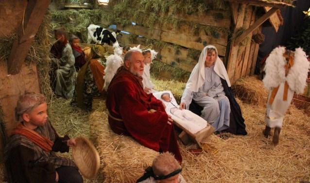 Ook dit jaar is er op eerste en tweede kerstdag in Gastel een levende kerststal te zien.