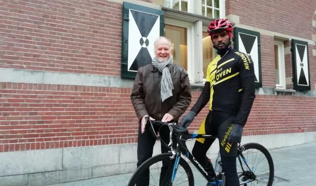 Ruud Kooring helpt vanuit Projectgroep Prima Perspectief Ambesagr Gebrihiwet, vluchteling uit Eritrea die nu in Driebergen zijn rust vond.