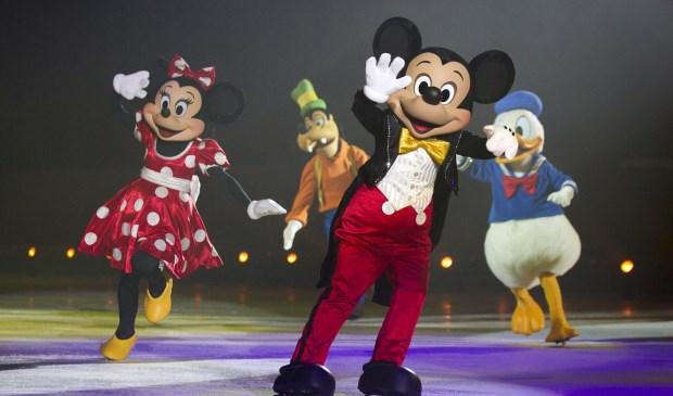 Mickey, Minnie, Donald & Goofy. (Foto: Eric Larson)