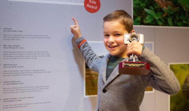 Winnaar Kids Award: Het web zonder spinDuco Slooff (8), Zeist