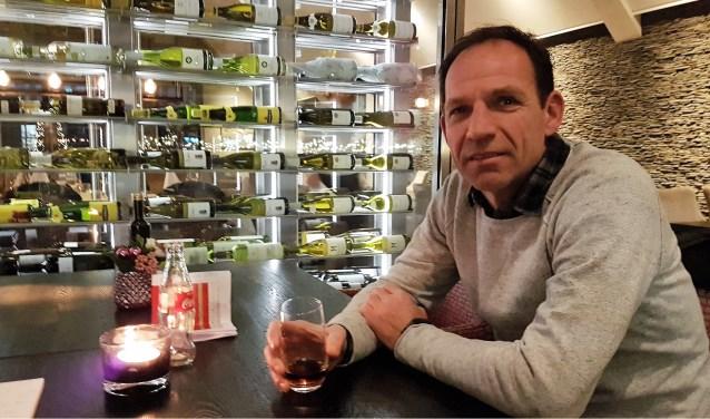 VV Bennekom trainer Arnold Brehler. (foto: Gert Budding)