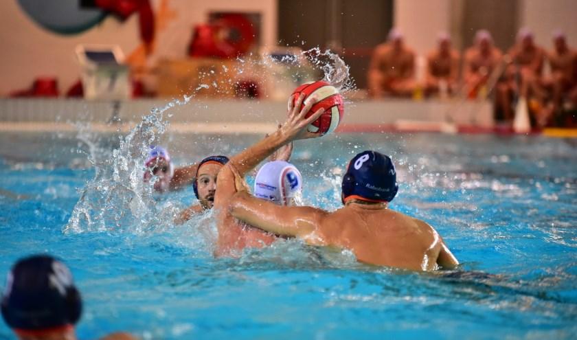 De waterpoloheren speelden gelijk tegen Schuurman BZC.