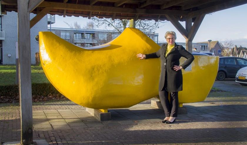 """""""Wanneer mag ik bij jullie langskomen om te praten over het mooie Wierden?"""", vraagt Dianne Harberink van de VVD Wierden-Enter."""