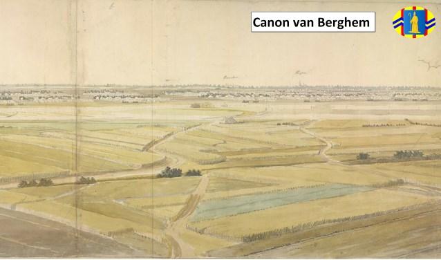 """Met de slogan: """"De geschiedenis van Berghem op één plaats in beeld"""" is meteen duidelijk wat de bedoeling van de Canon van Berghem is."""