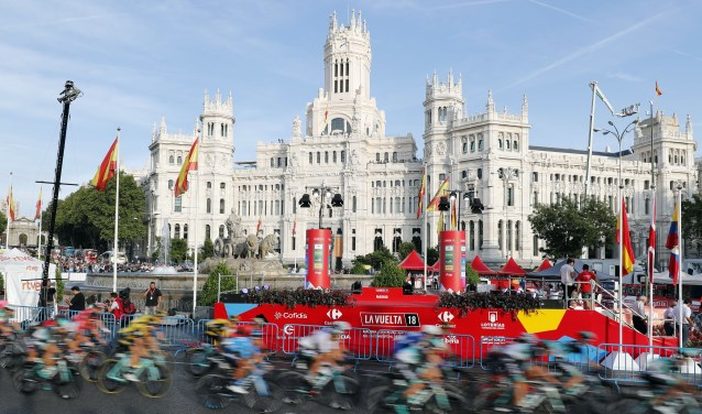 Vuelta Espana 2018. Etappe 21 Alcorcon - Madrid.100,9 Km. Verreden op zondag 16 september 2018. (foto: Unipublic / Photogomezsport).