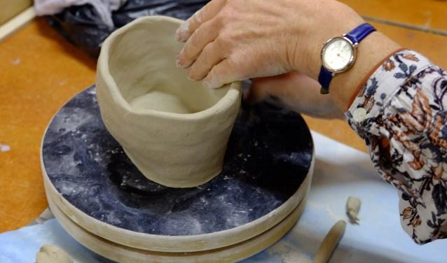 maken van een pot