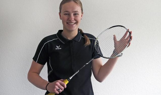 Renee den Hartog, één van de jonge talenten van ABC Swindregt