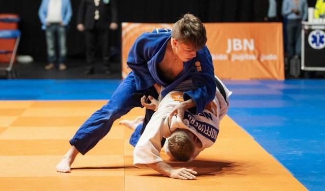 Daan Moes uit Almelo is een van de judotalenten die Twente al voortbracht. Vorig jaar werd hij derde op het WK.