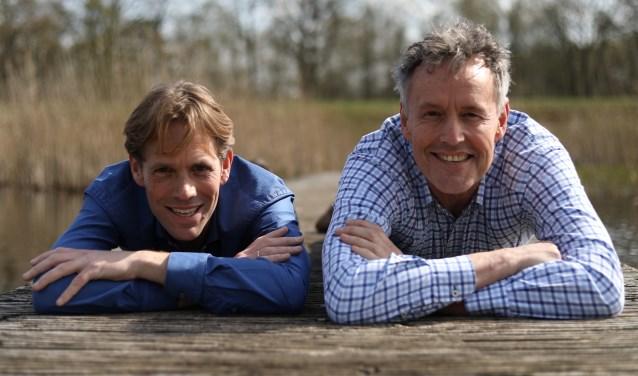 v.l.n.r. Verheijden & Koningsberger FOTO: Maaike Eijkman