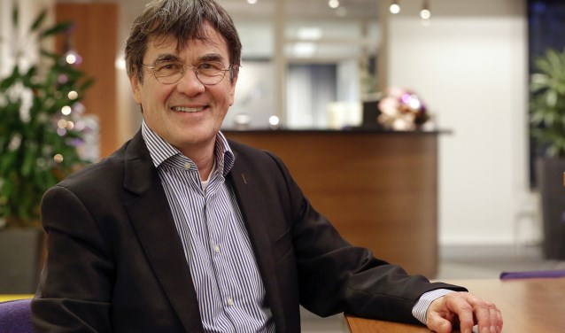 Directeur-bestuurder Rob Möhlmann heeft alle vertrouwen in de toekomst van Woningstichting Woningbelang. Foto: Jurgen van Hoof.