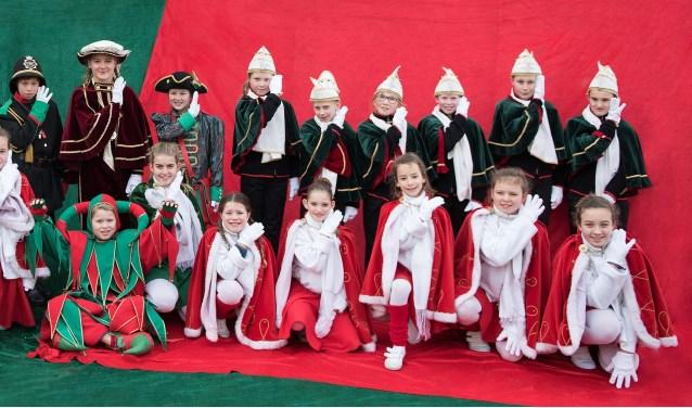 Het carnavalsseizoen is gestart en daarom is OCS de Smulnarren op naar jeugdprins(es) Kaaike XVI & GROOTKindergevolg (foto: Ruben van Straten)