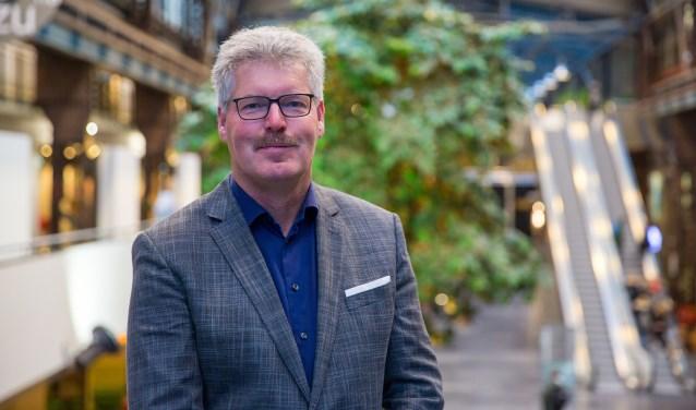 Rob Schouten is per 1 januari 2019 de nieuwe voorzitter van de Raad van Toezicht van het ROC van Twente. Foto: Roel Pieper