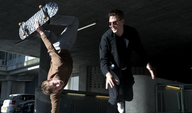 David Schoch en Steven van Lummel zijn skaters van het eerste uur.