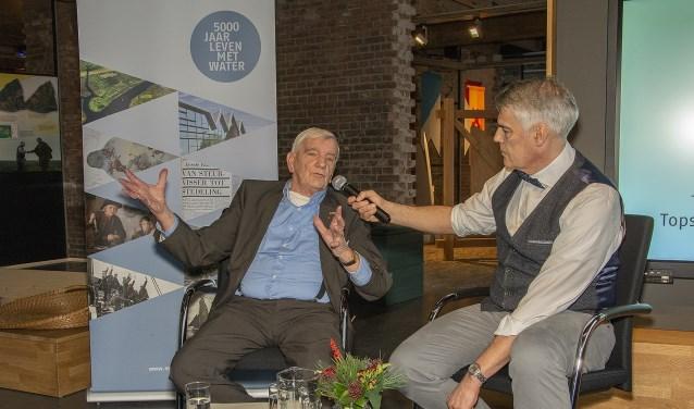 Zijn ervaringen tijdens WOII leidden tot het begin van zijn verzameling, vertelde Jan Anderson aan interviewer Perry Moree.