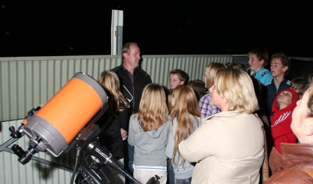 Sterrenwacht Phoenix door de telescopen