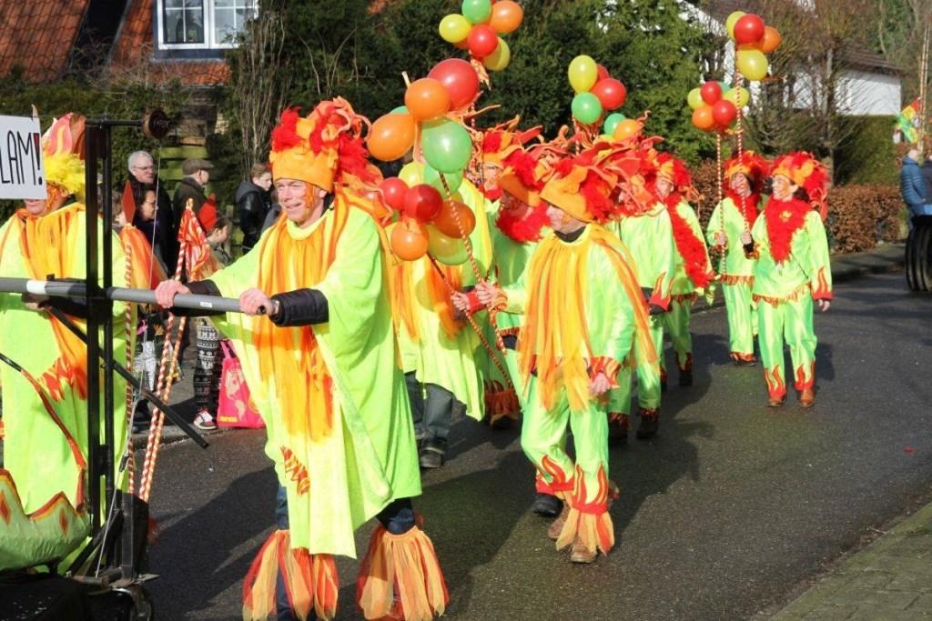 De steeds groter wordende Loose carnavalsoptocht op 4 maart begint om 11.11 uur bij schuttersgebouw Willem Tell.