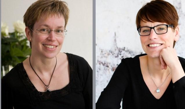 Links: Anita Eeltink, rechts: Renate Grevers