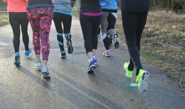 Mindful Run deelnemers: hardlopen met gebruik van alle zintuigen en met plezier