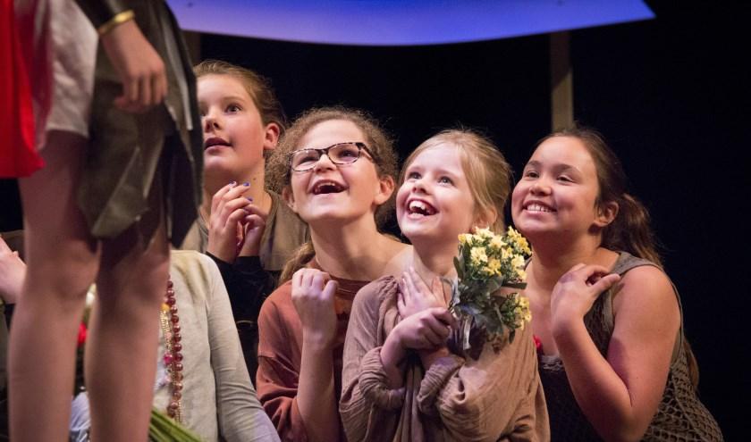 FanWork Musicals verzorgt al enkele jaren musicallessen in Ede. (Foto: FanWork Musicals)