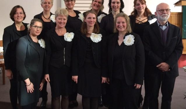Twee dagen achter elkaar geeft het vocaal ensemble Waisisi een bijzonder kerstconcert. FOTO: PR